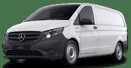 Mercedes eVito Kastenwagen, 116 PS, Automatik, Elektro