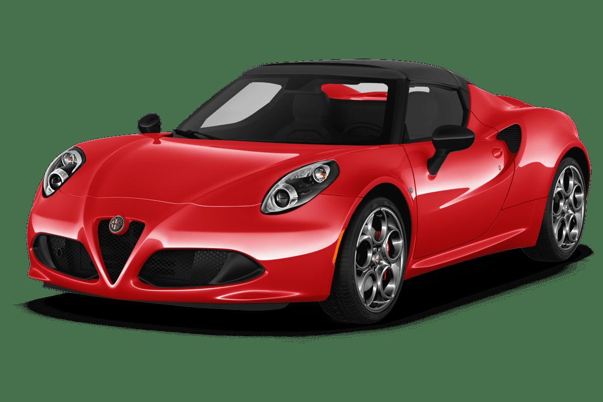 Alfa Romeo 4C angularfront