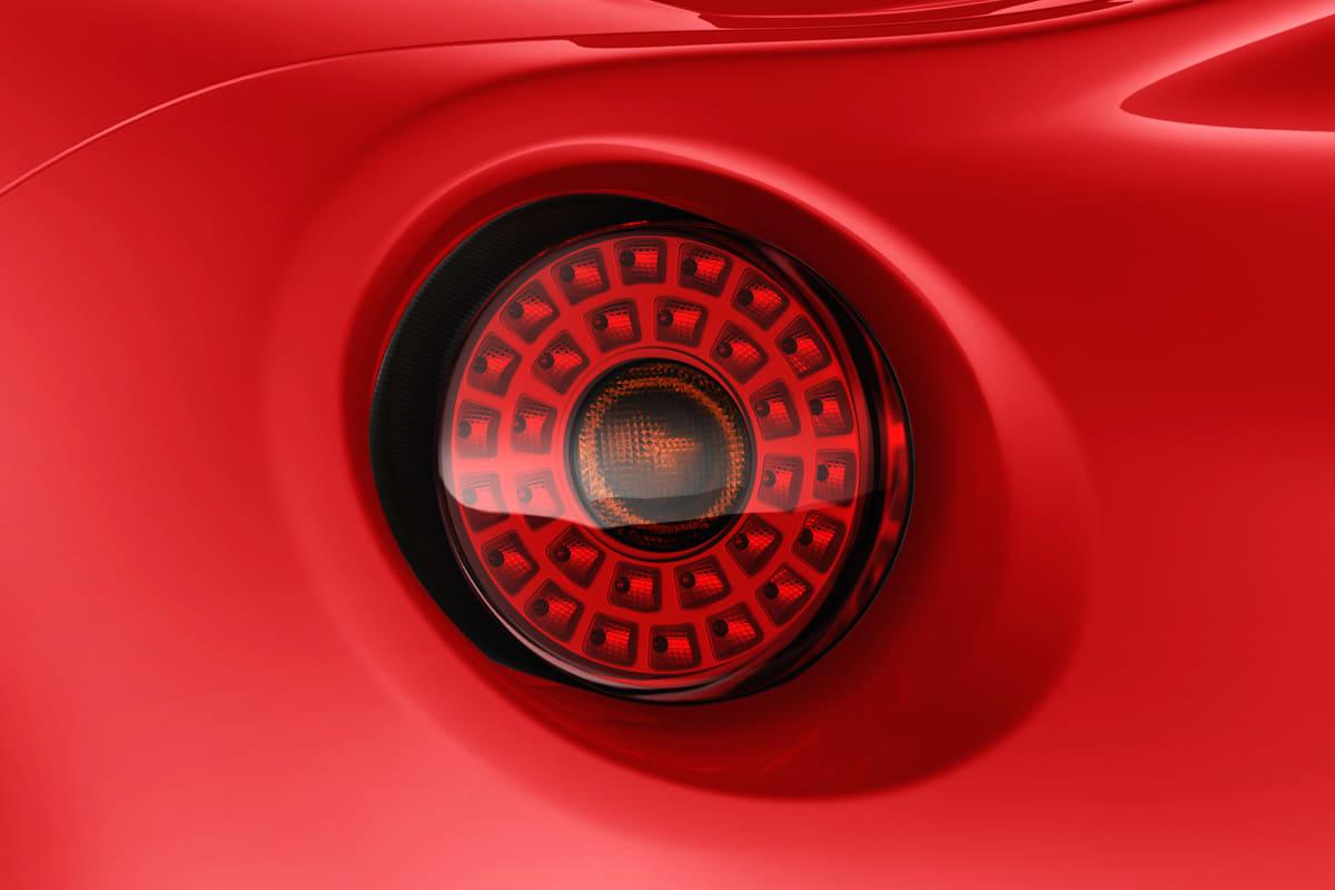 Alfa Romeo 4C taillight