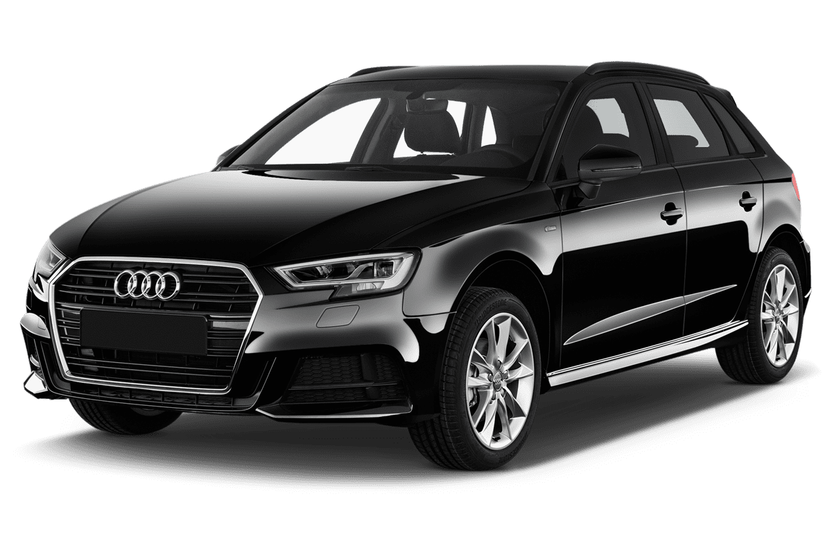 Audi A3 Sportback All-in-One-Paket angularfront