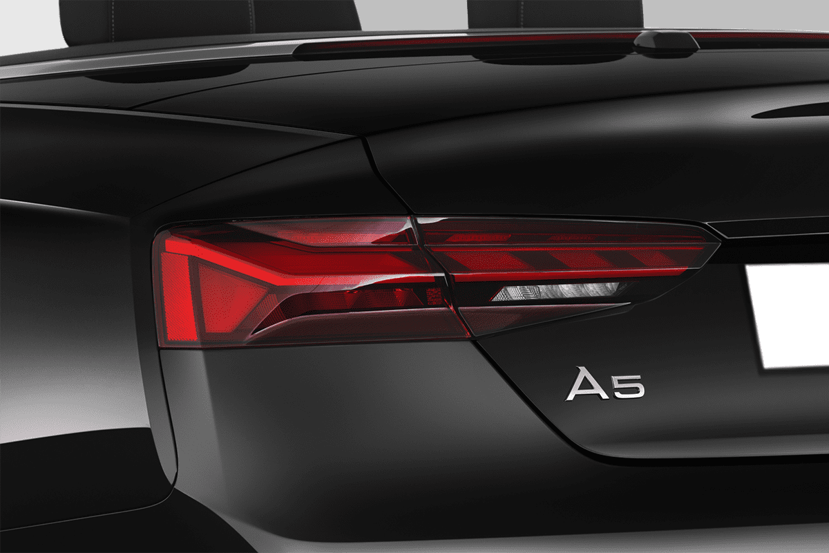 Audi A5 Cabriolet taillight