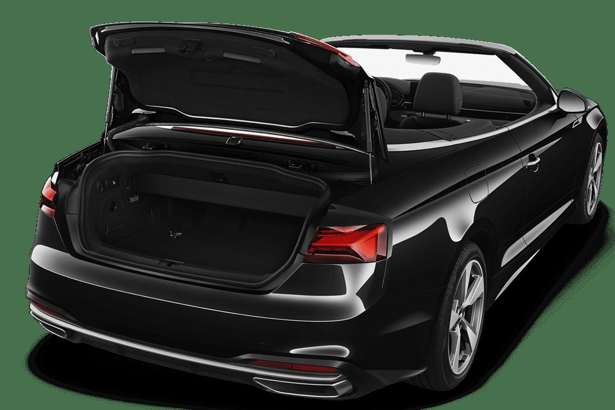 Audi A5 Cabriolet trunk