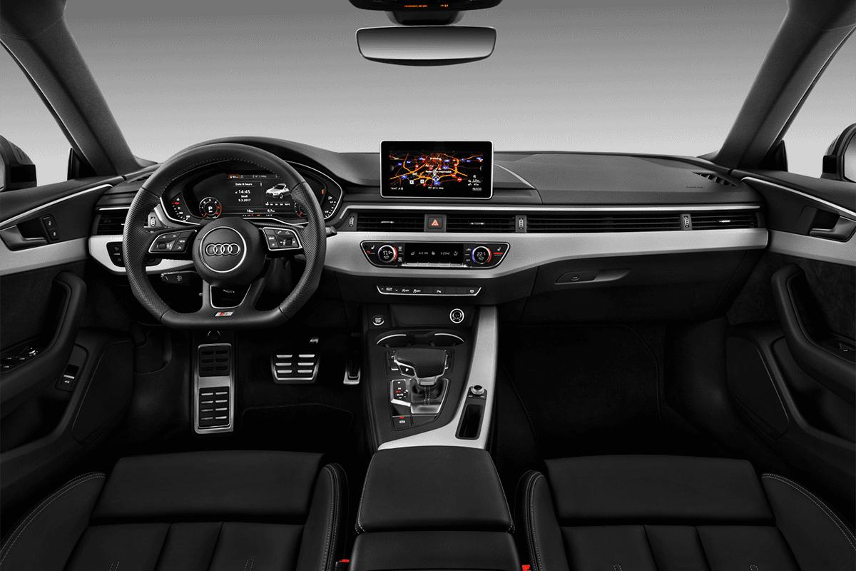Audi A5 Sportback g-tron dashboard