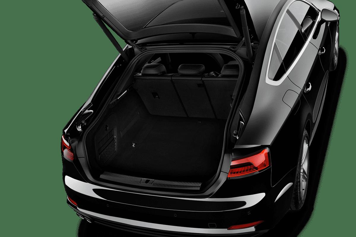 Audi A5 Sportback g-tron trunk