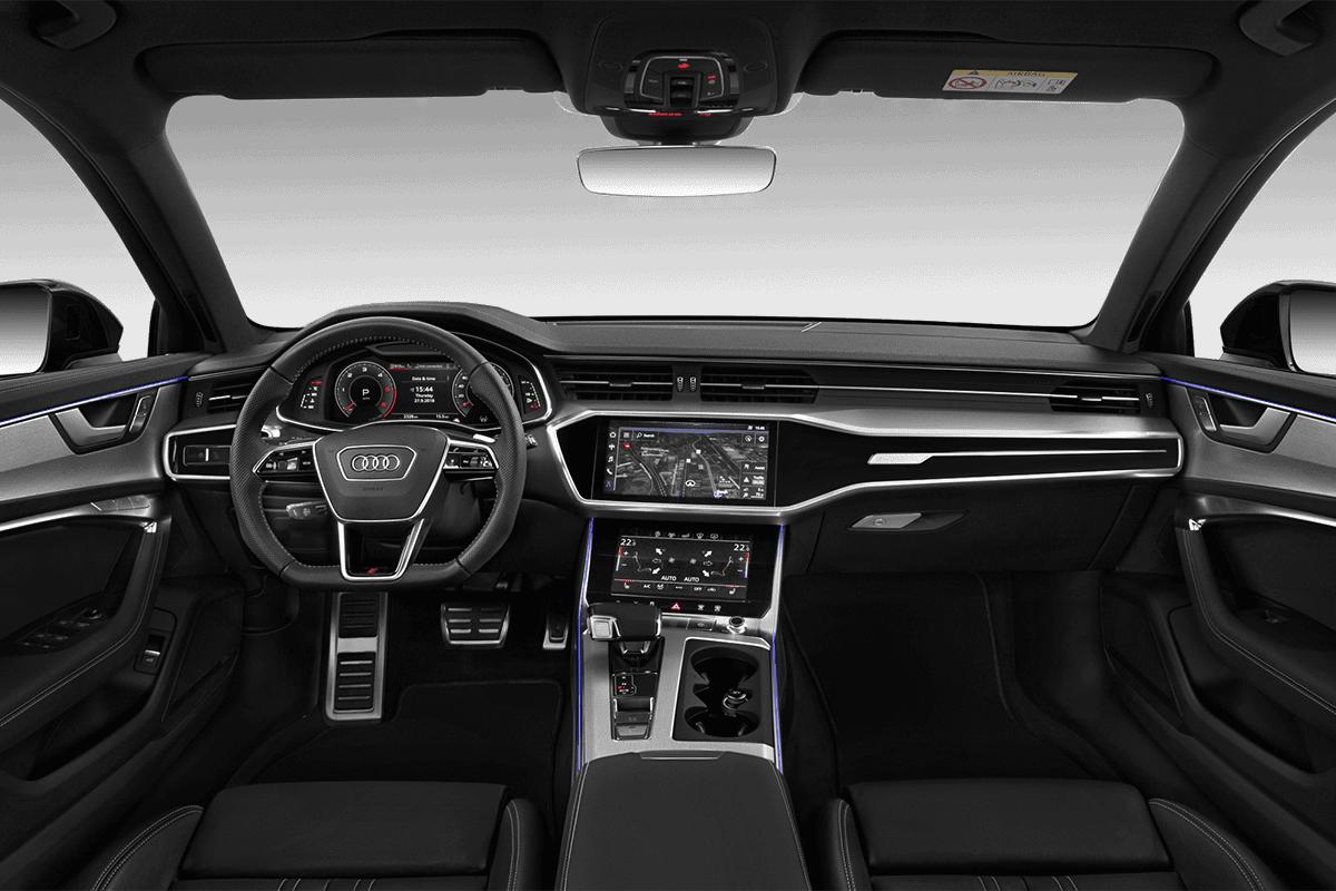 Audi A6 Avant TFSI e dashboard