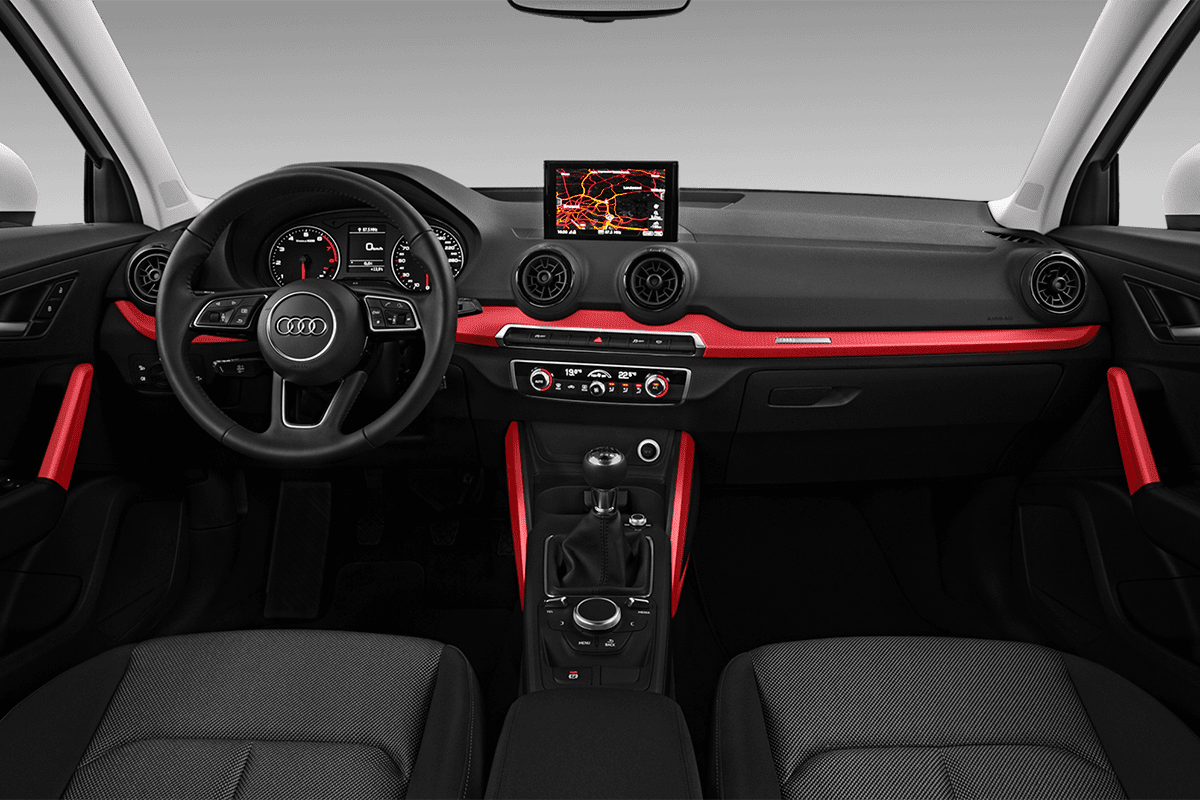 Audi Q2 All-in-One-Paket dashboard