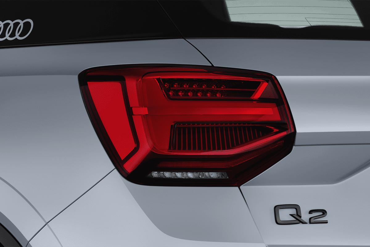 Audi Q2  taillight