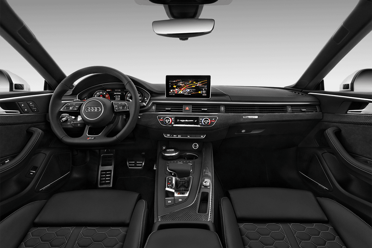 Audi RS5 All-in-One-Paket dashboard