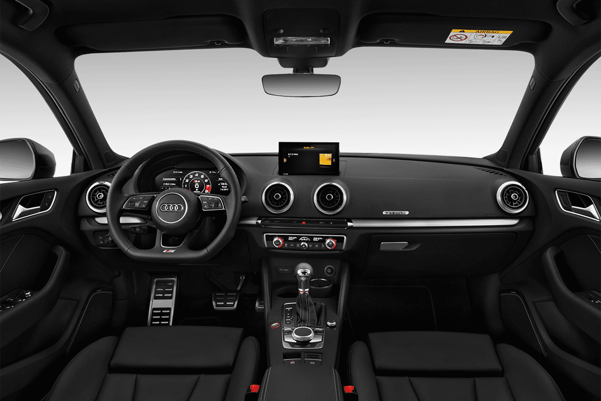 Audi S3 Sportback All-in-One-Paket dashboard