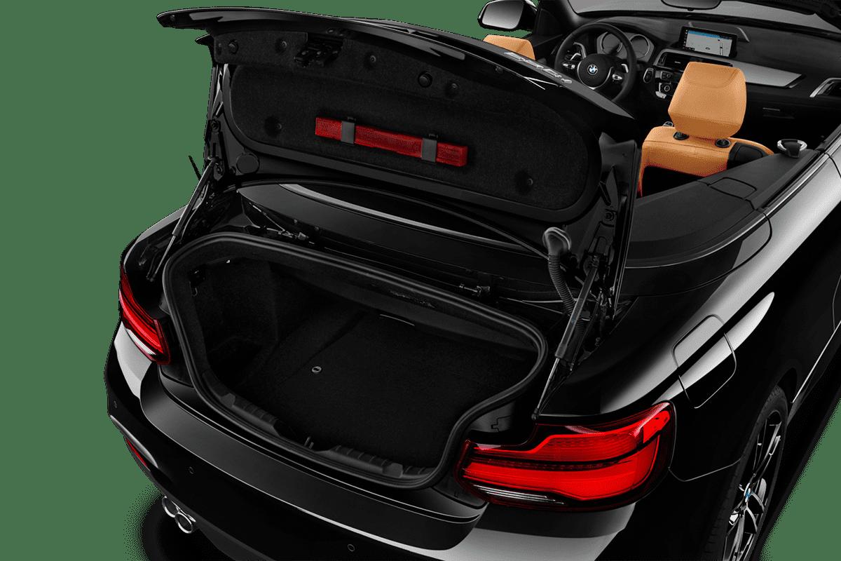 BMW 2er Cabrio trunk