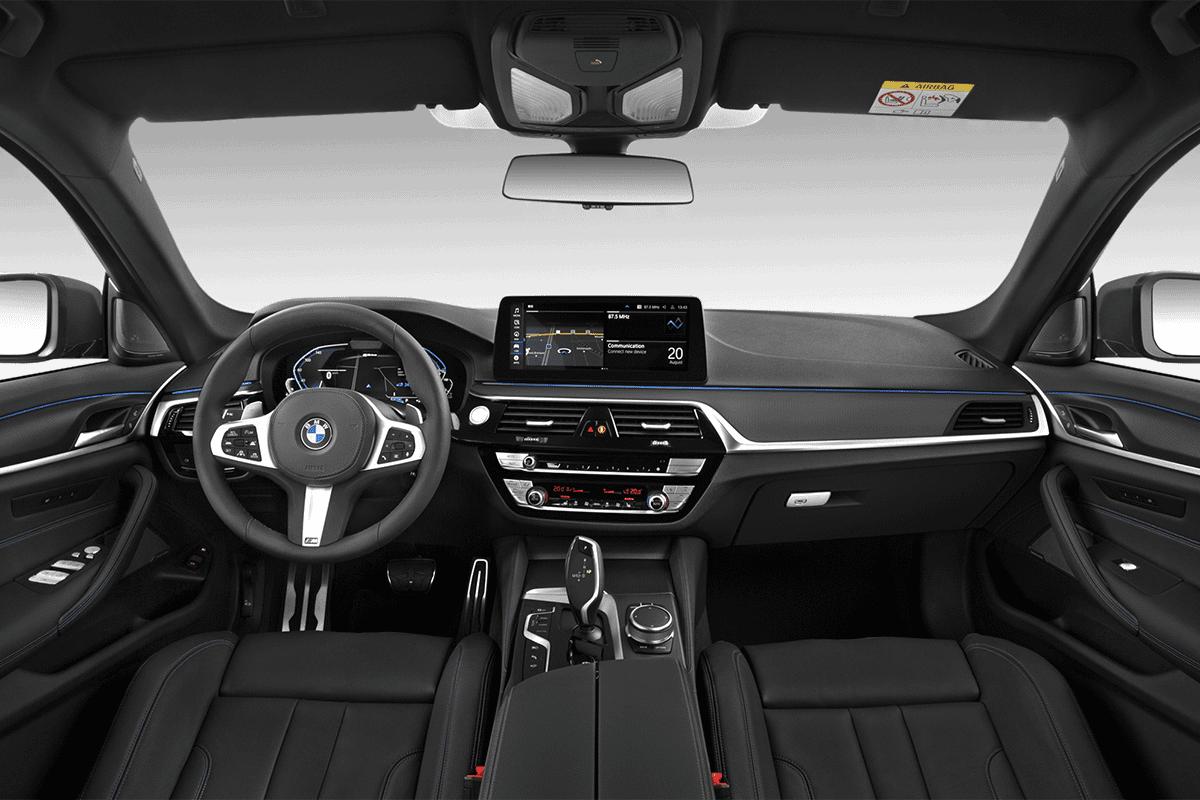BMW 5er Limousine Plug-in-Hybrid dashboard