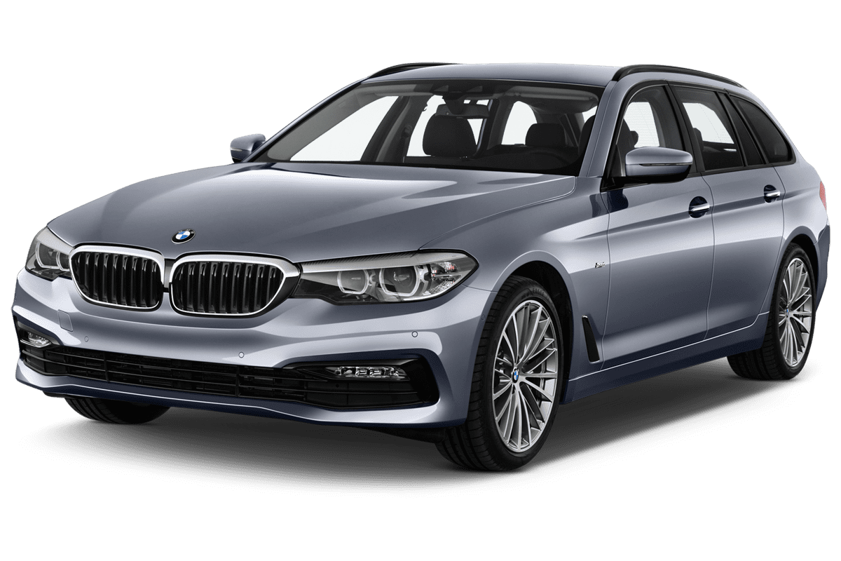 BMW 5er Touring Plug-in-Hybrid angularfront