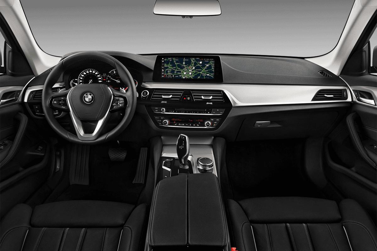 BMW 5er Touring Plug-in-Hybrid dashboard