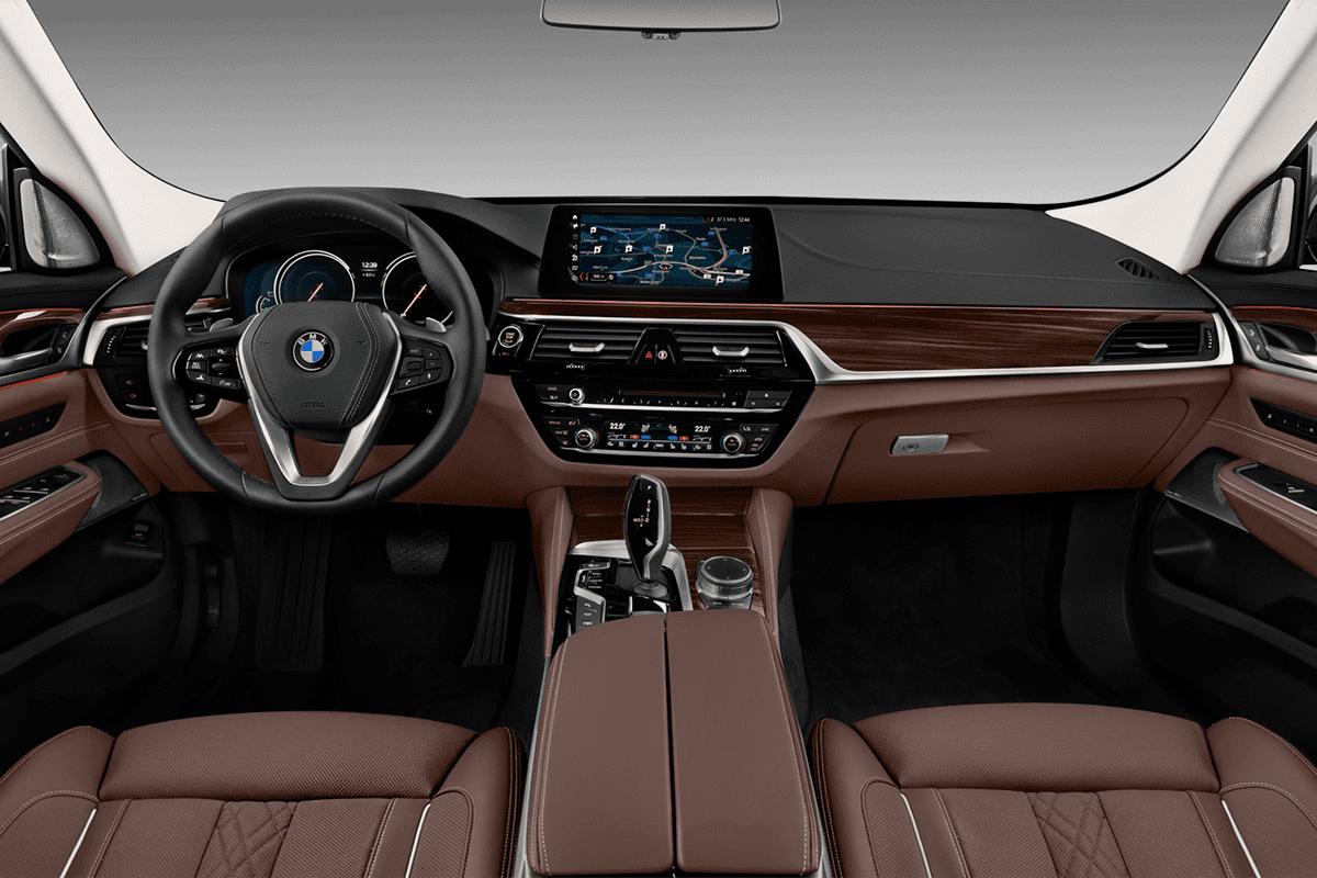 BMW 6er Gran Turismo dashboard