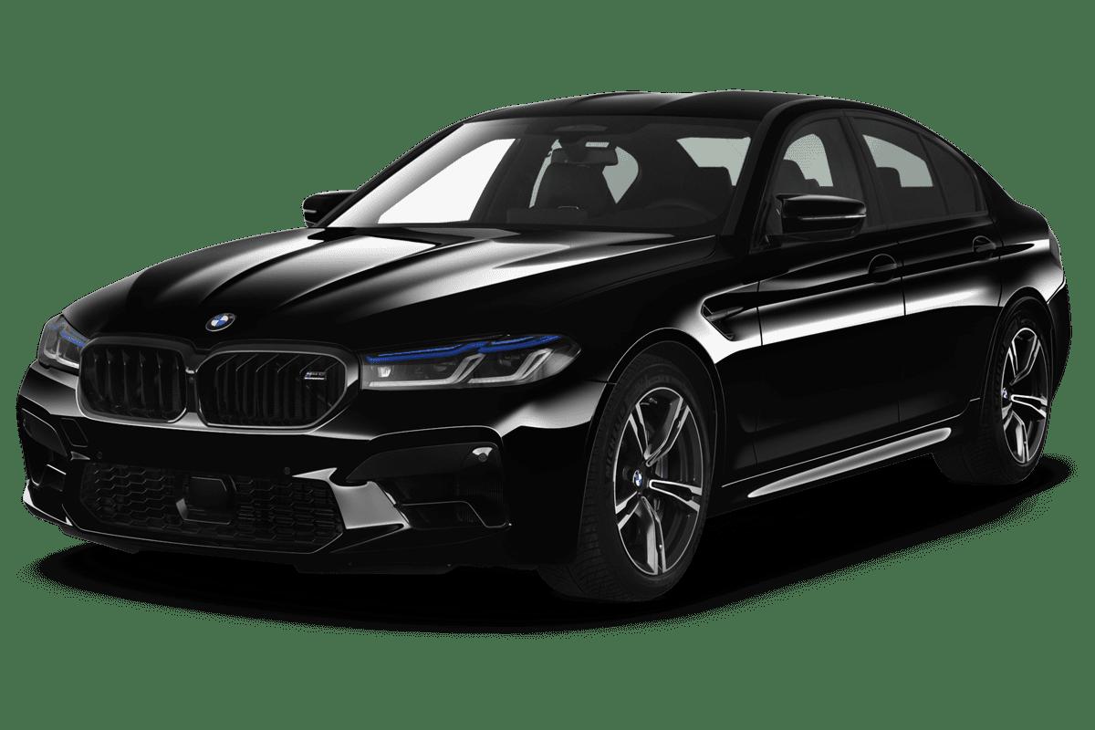 BMW M5 angularfront