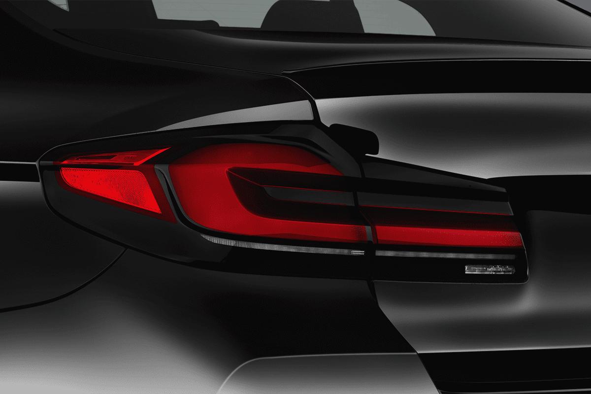 BMW M5 taillight