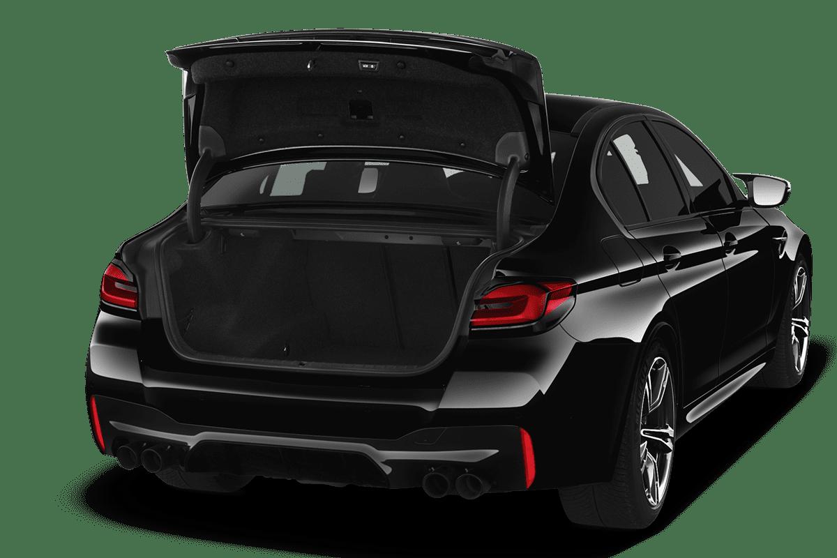BMW M5 trunk