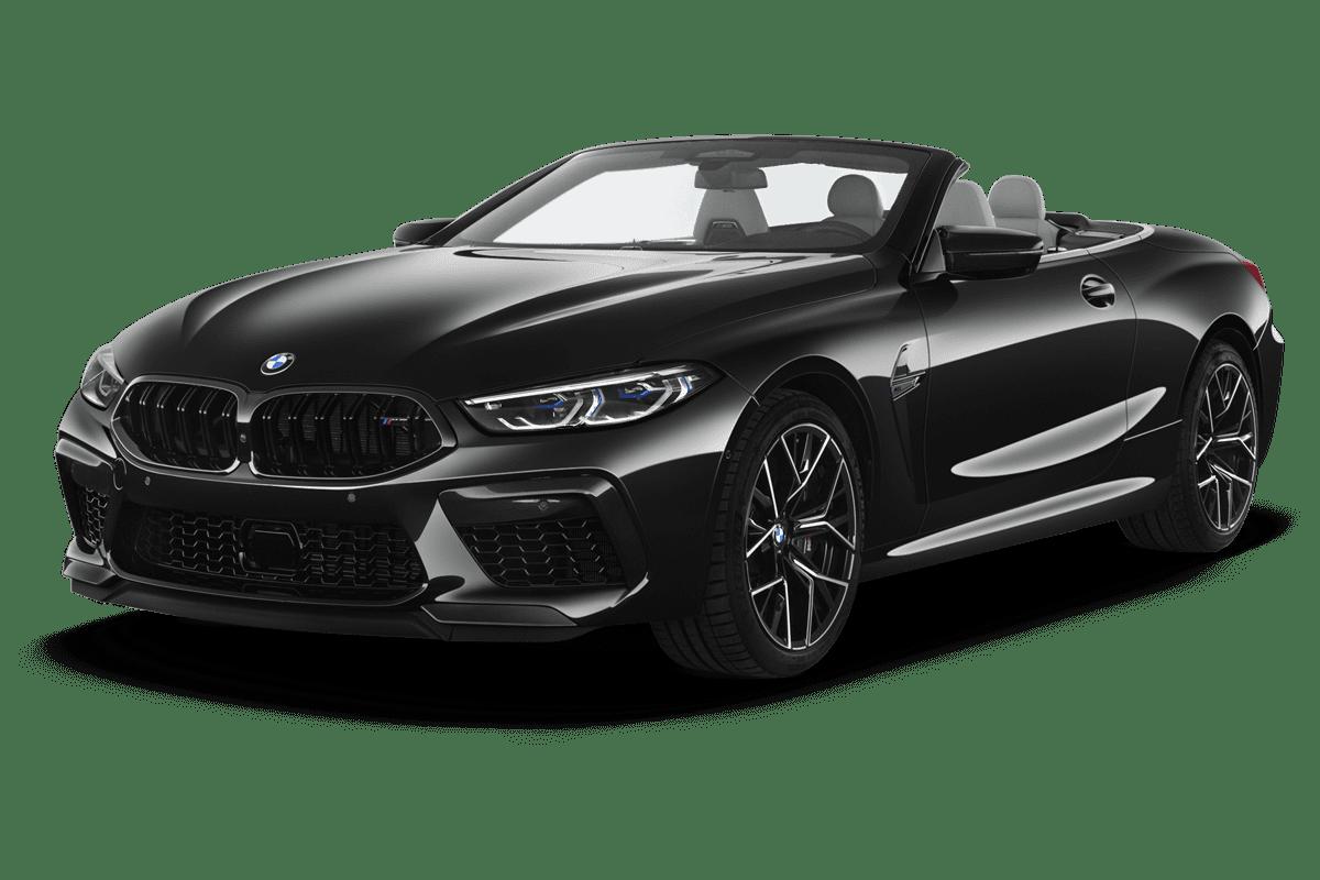 BMW M8 Cabrio angularfront