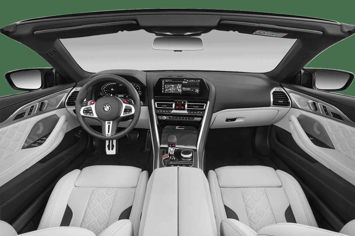 BMW M8 Cabrio dashboard