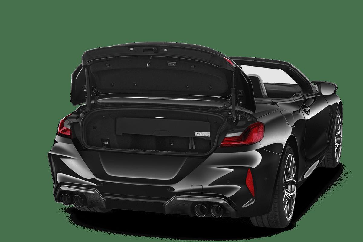 BMW M8 Cabrio trunk