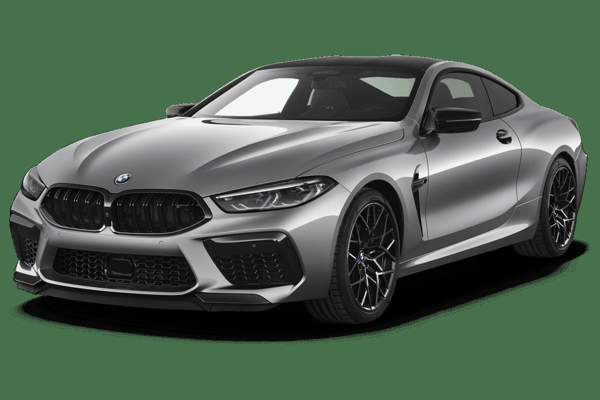 BMW M8 Coupé angularfront