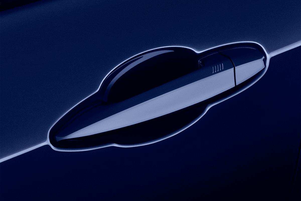 BMW X2 doorhandle