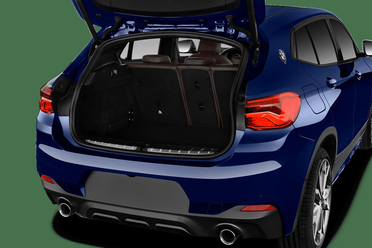 BMW X2 trunk