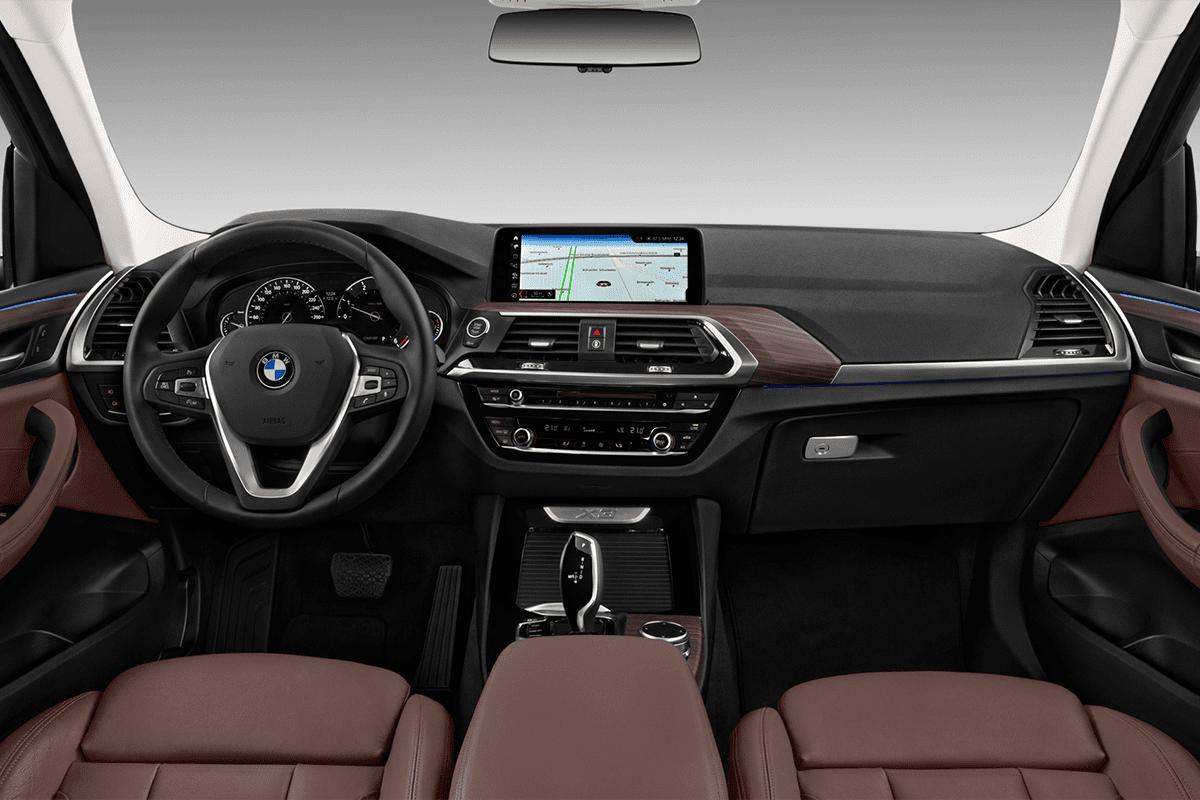 BMW X3 M-Performance dashboard