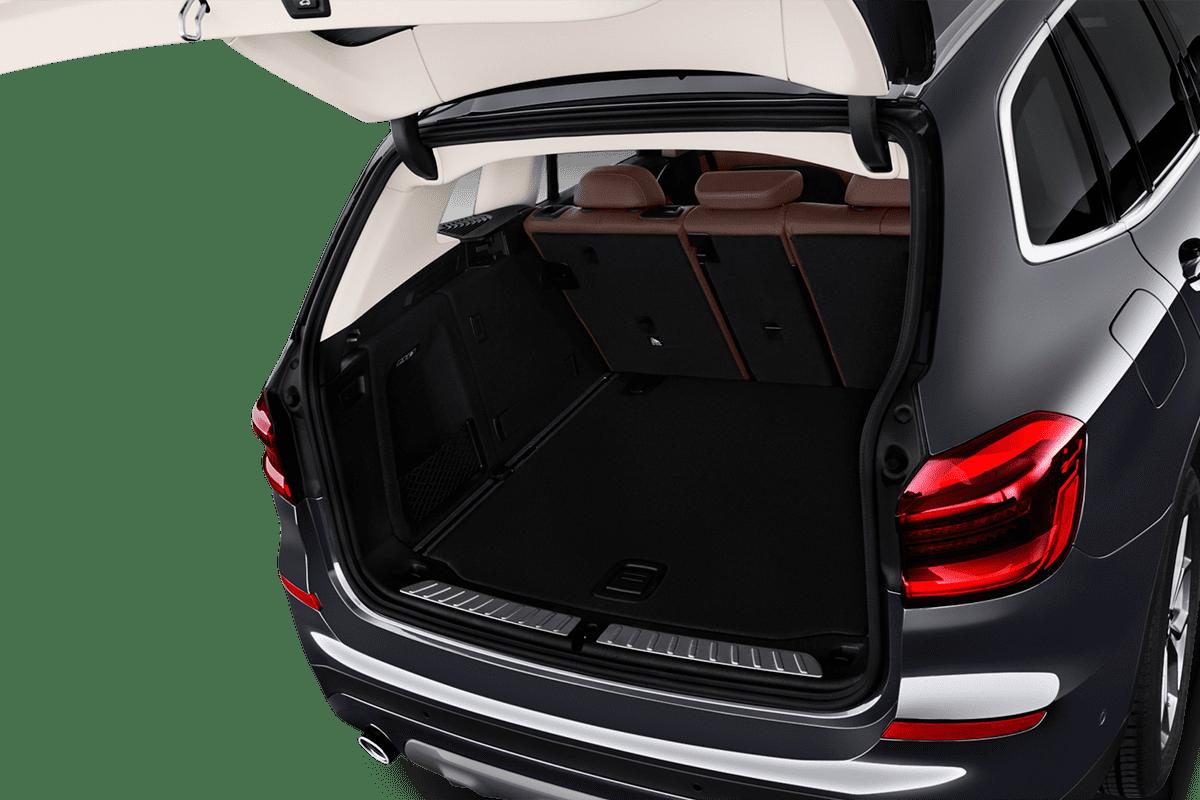 BMW X3 M-Performance trunk