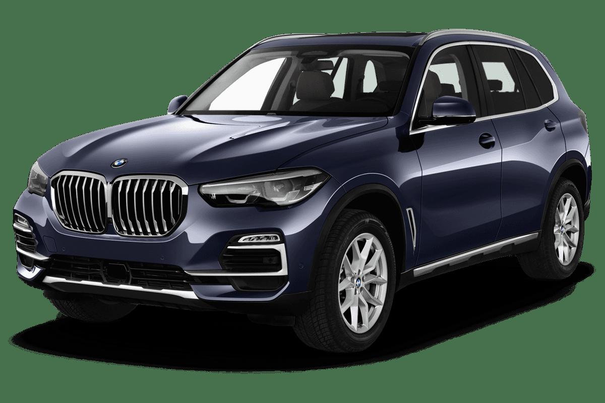 BMW X5 angularfront