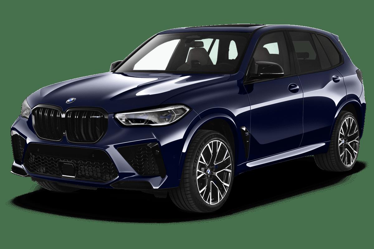 BMW X5 M  angularfront
