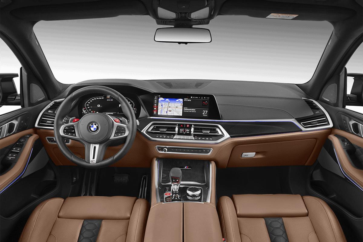 BMW X5 M  dashboard