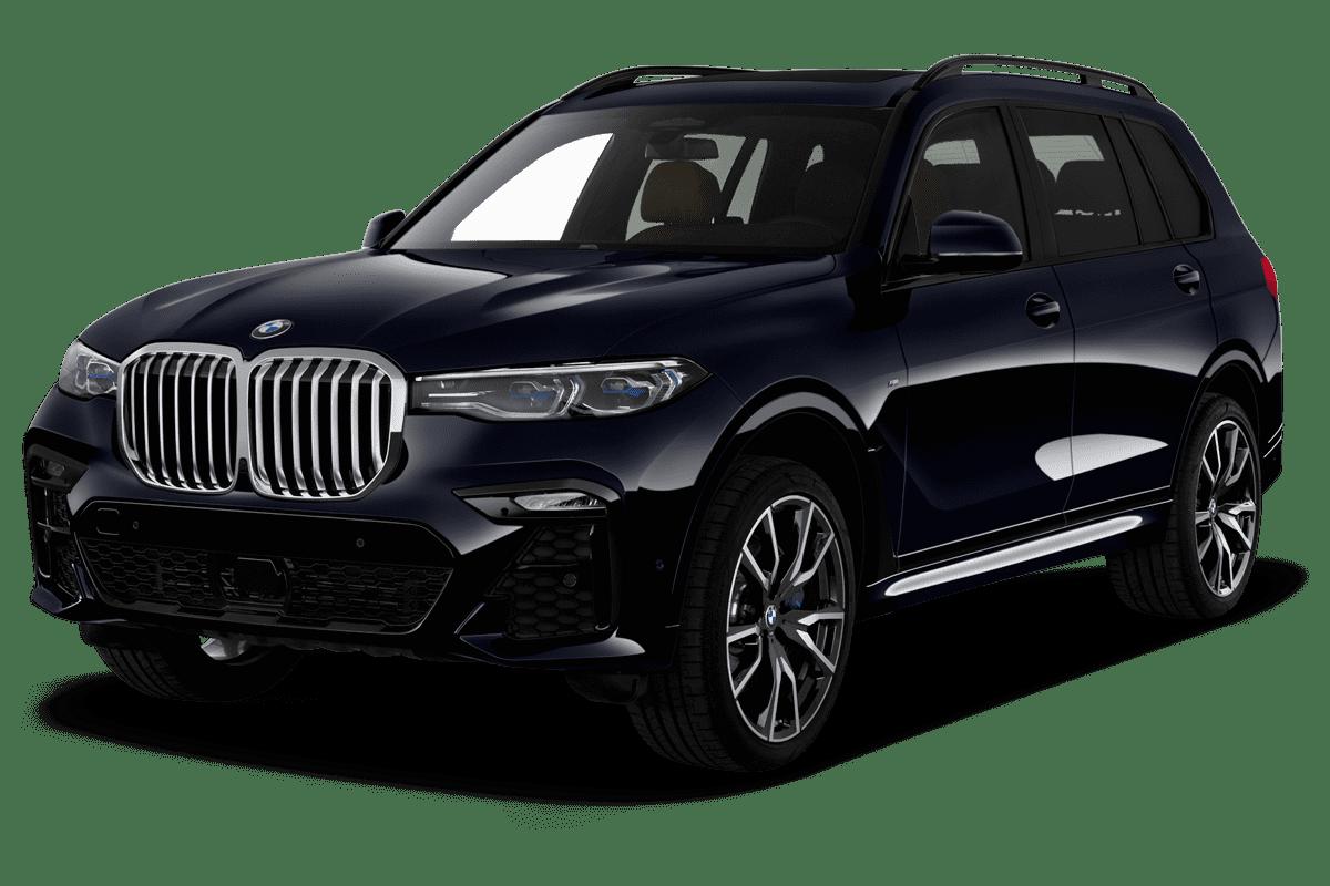BMW X7 angularfront