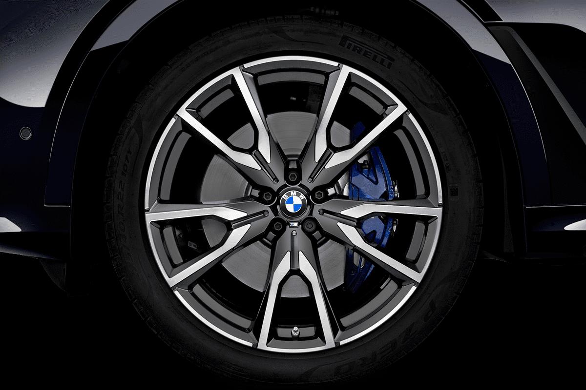 BMW X7 wheelcap