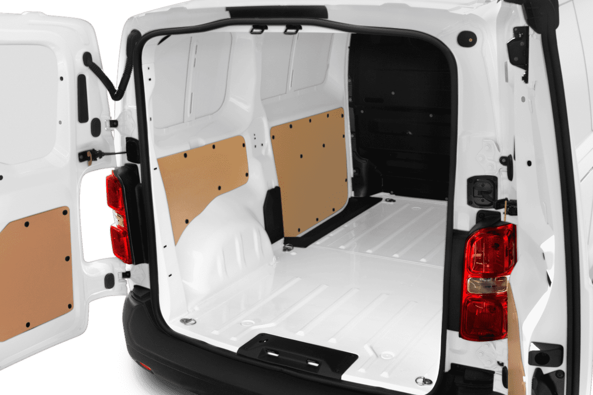 Citroen Jumpy Kastenwagen trunk