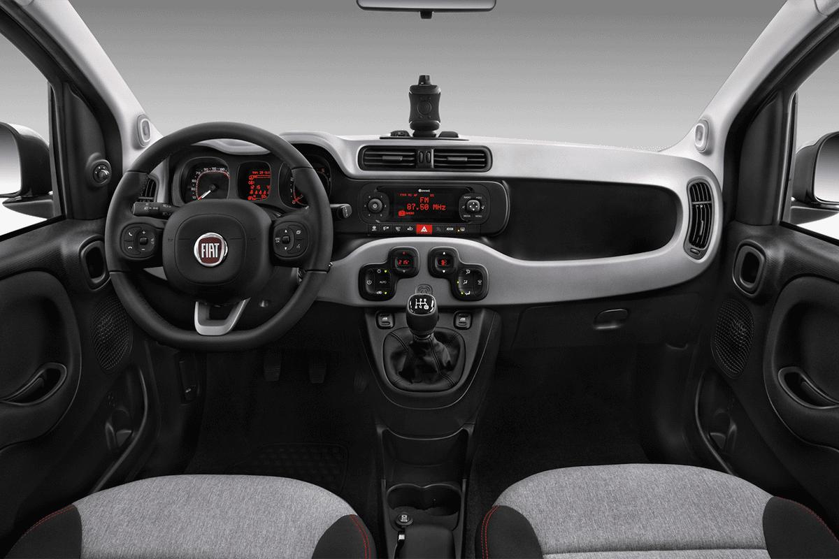 Fiat Panda LPG dashboard