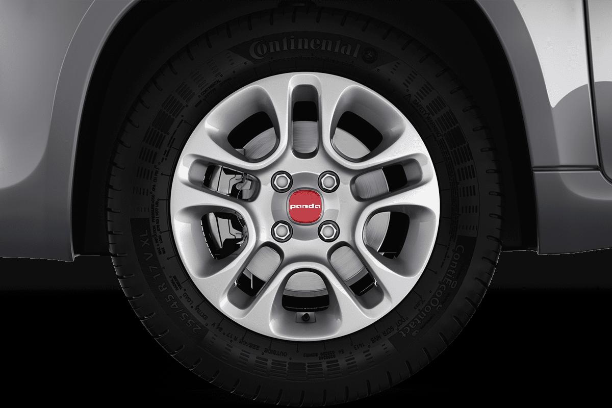 Fiat Panda LPG wheelcap