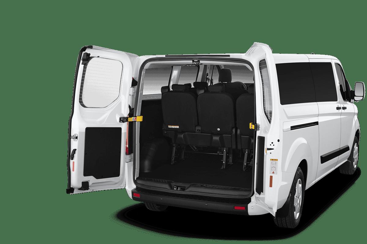Ford Transit Custom Kombi trunk
