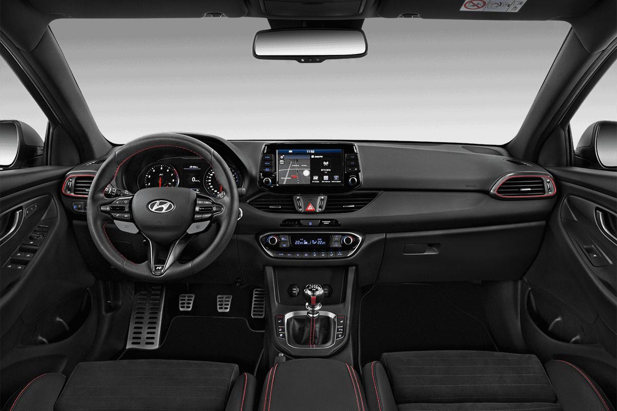 Hyundai i30 N Fastback dashboard