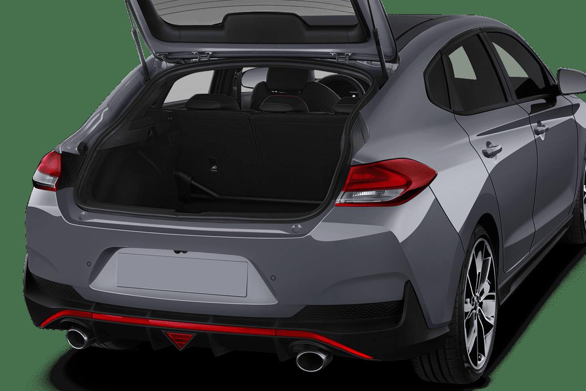Hyundai i30 N Fastback trunk