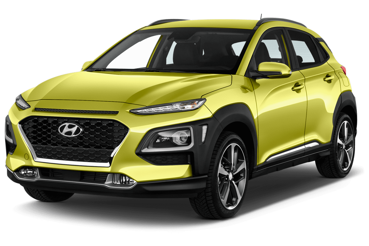 Hyundai Kona Plug-in-Hybrid angularfront