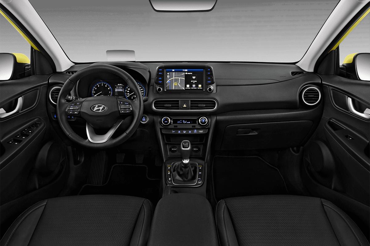 Hyundai Kona Plug-in-Hybrid dashboard