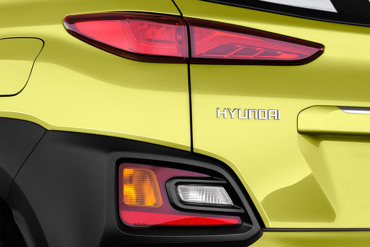 Hyundai Kona Plug-in-Hybrid taillight