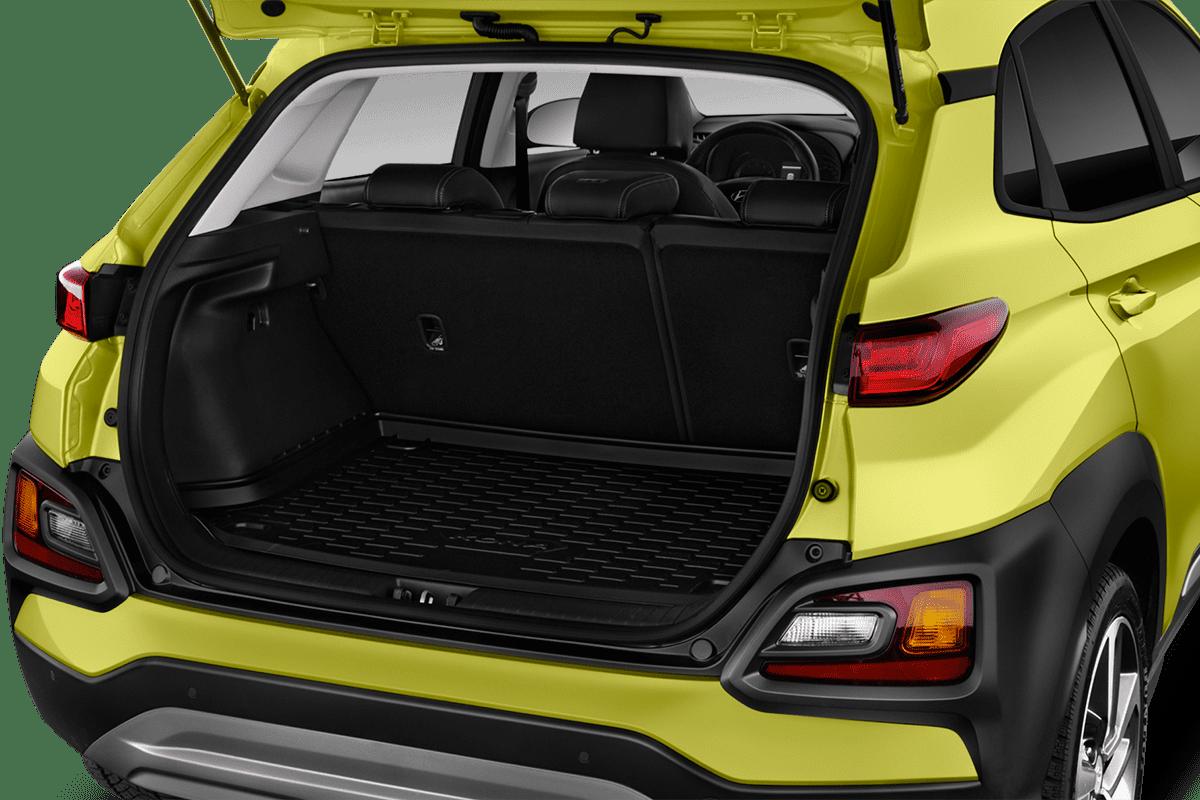 Hyundai Kona Plug-in-Hybrid trunk