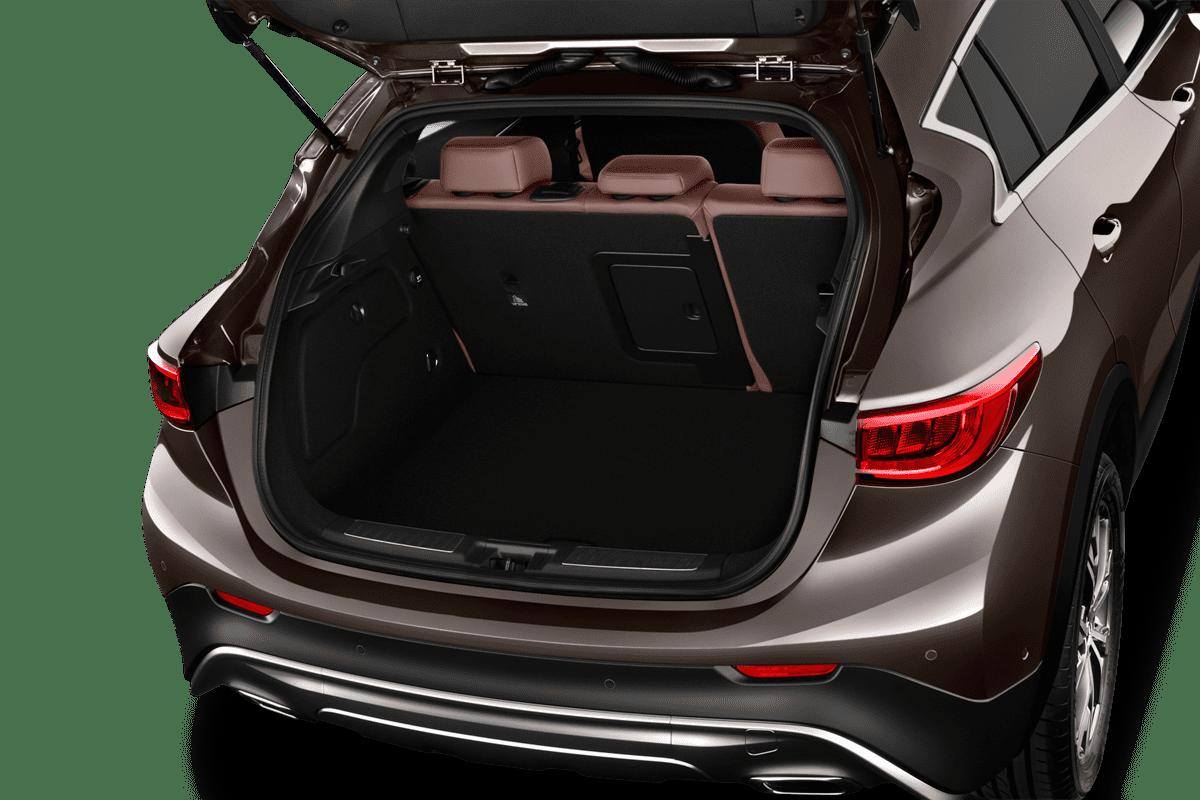 Infiniti QX30 trunk