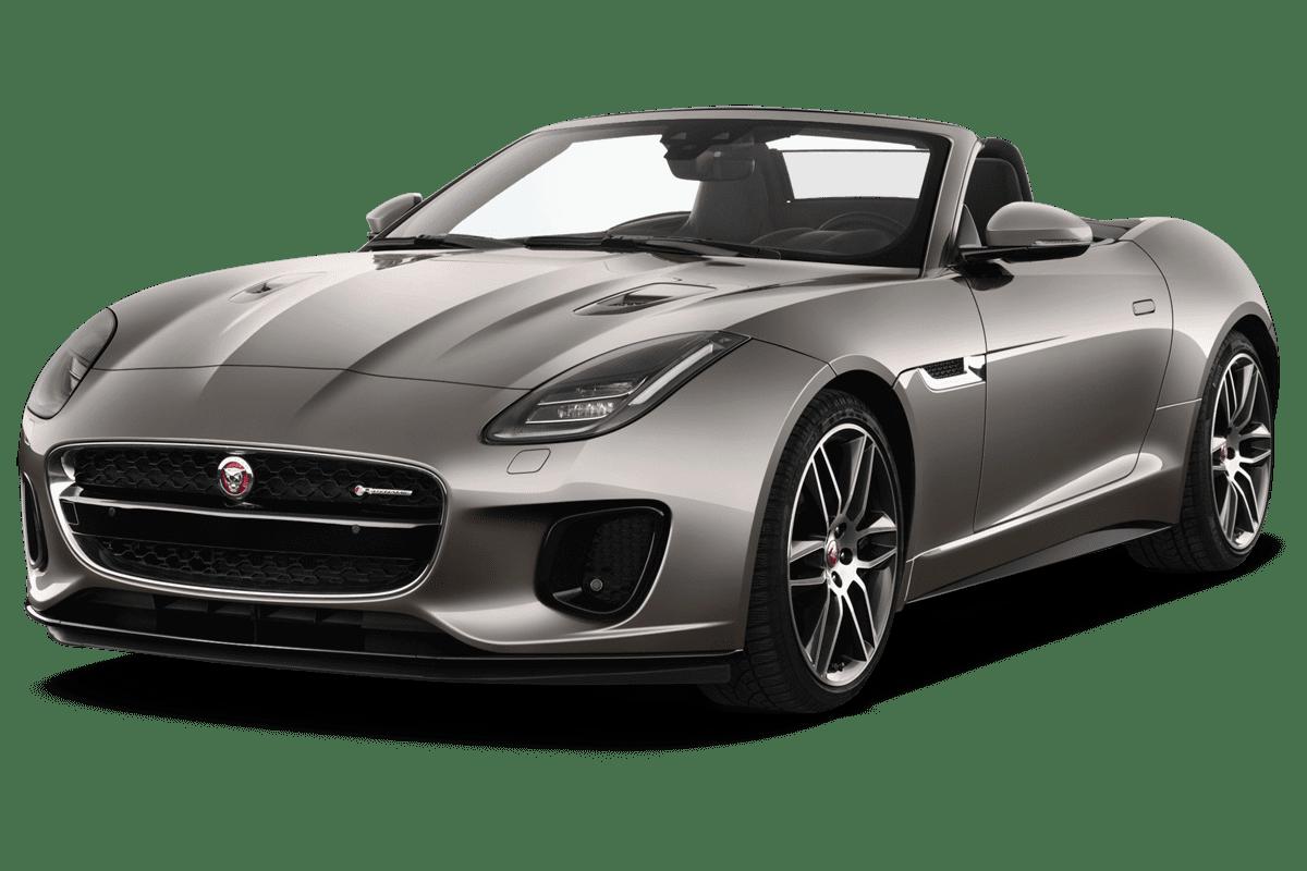 Jaguar F-Type Cabrio angularfront