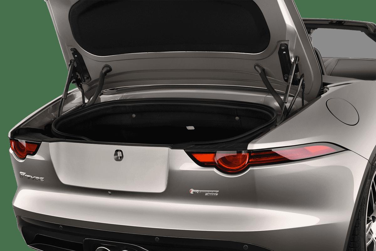 Jaguar F-Type Cabrio trunk
