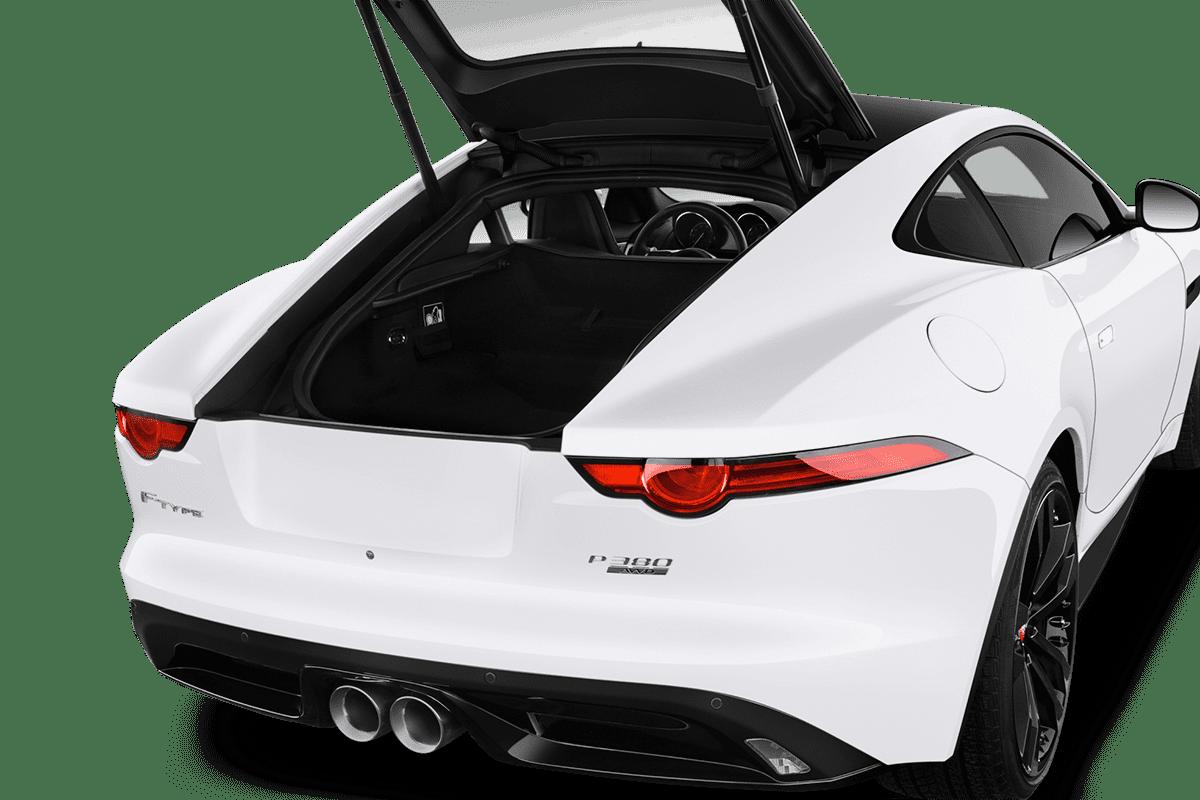 Jaguar F-Type Coupé trunk