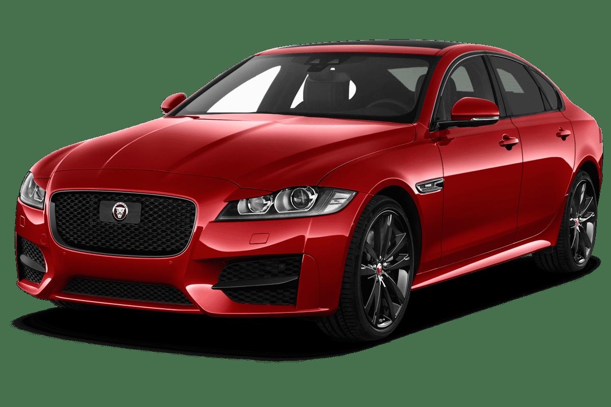 Jaguar XF angularfront