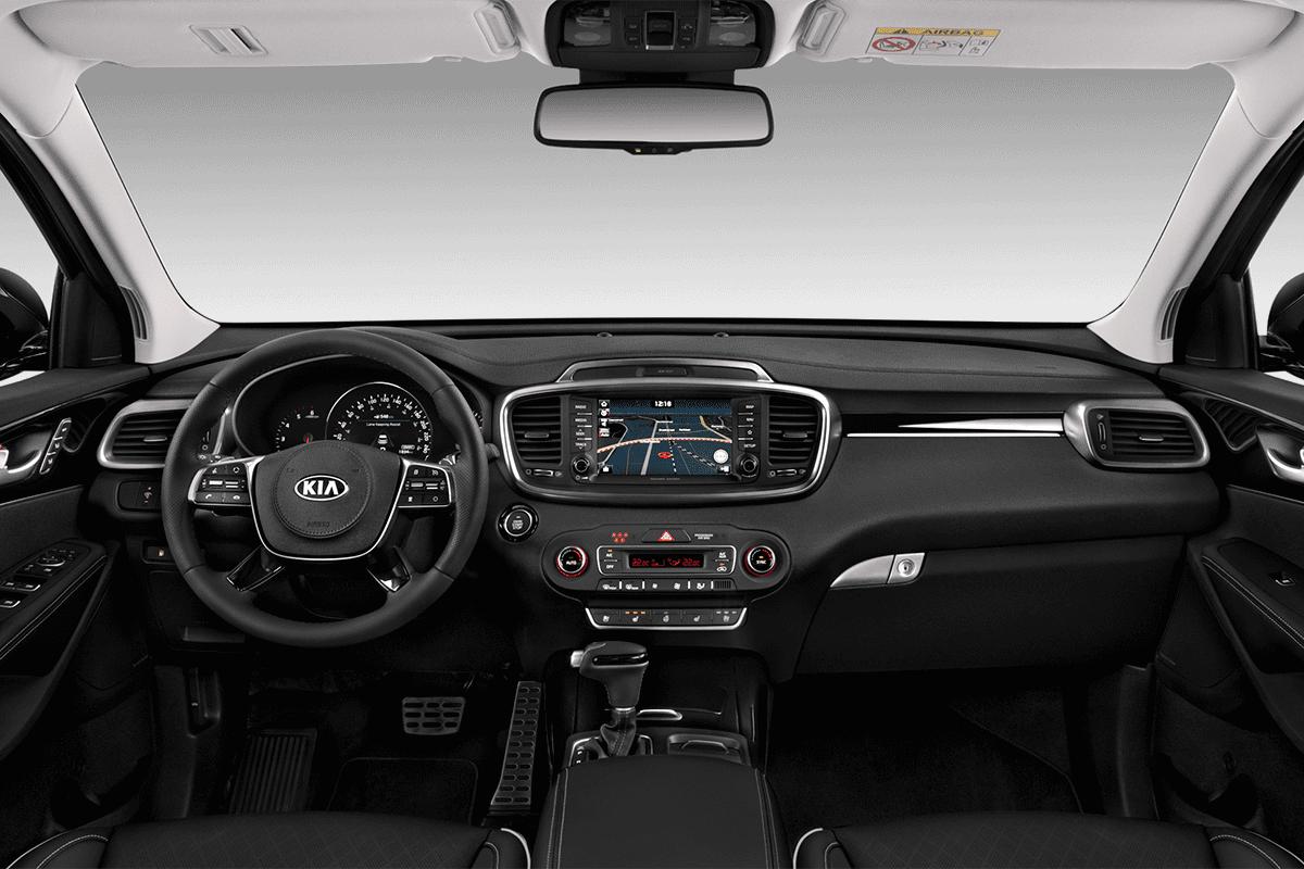 KIA Sorento Hybrid dashboard
